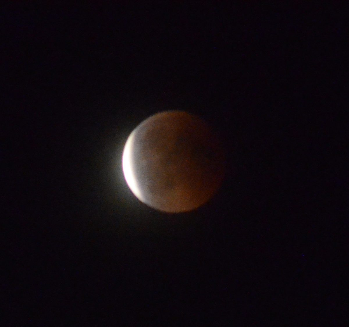 Moon Eclipse + Mars / 2018-07-27