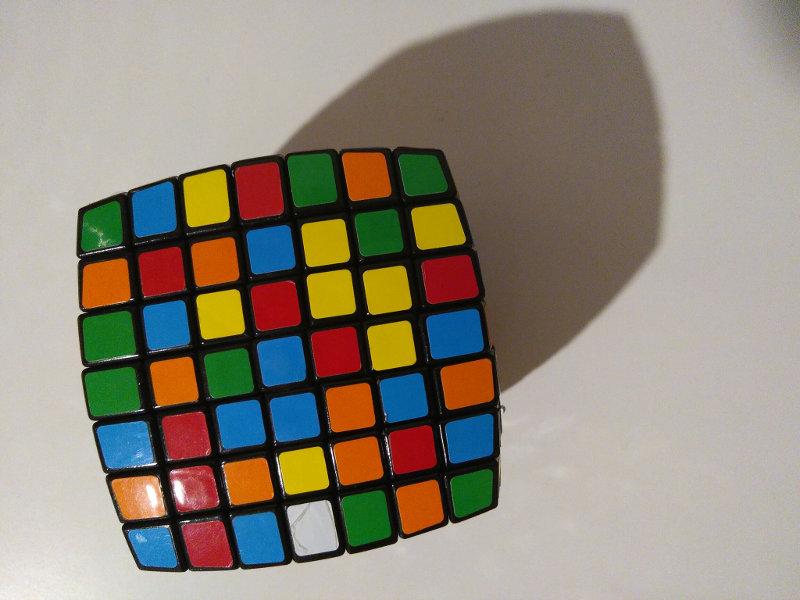 A Strange Rubik's Cube Story