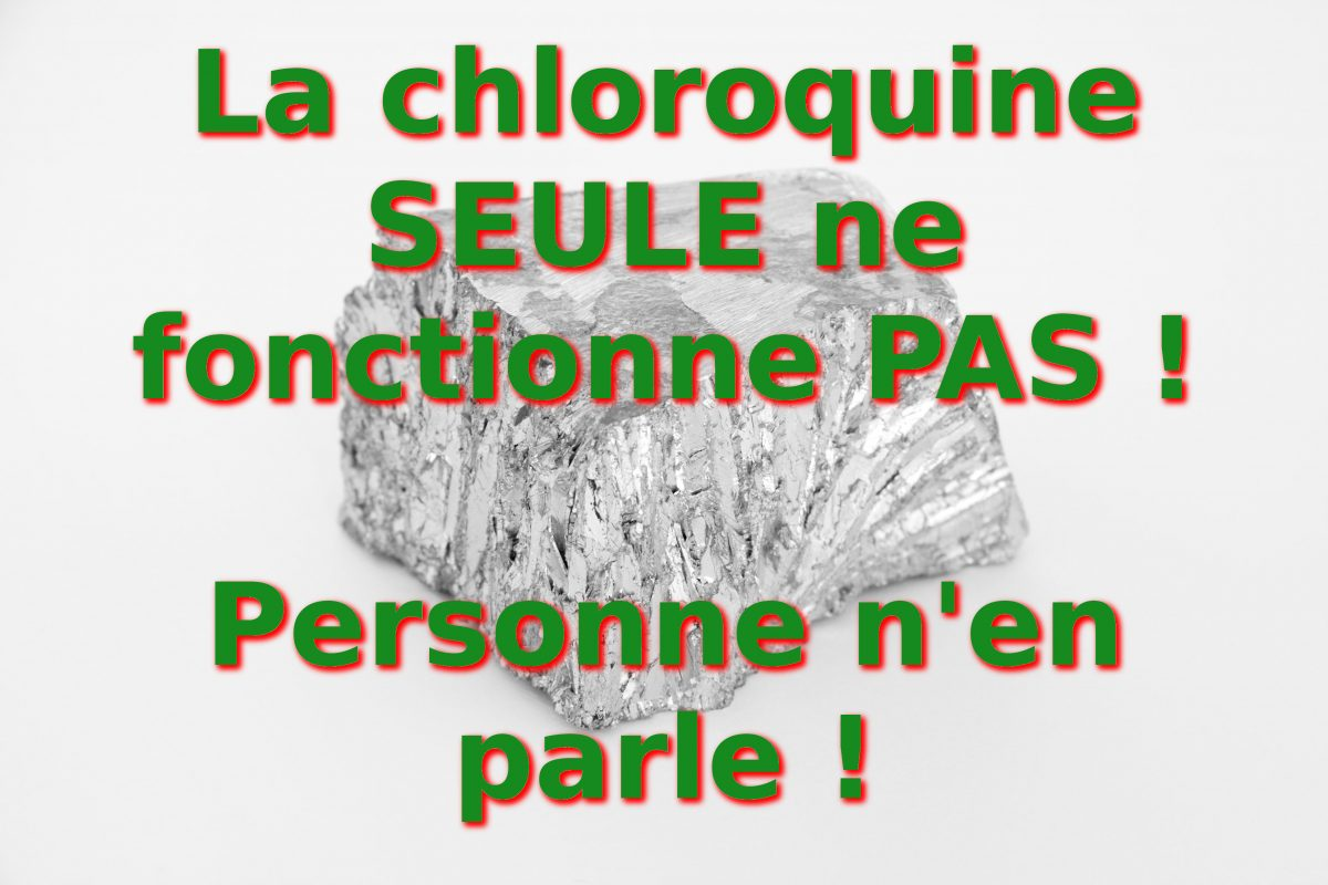 Chloroquine contre Covid-19 : explications